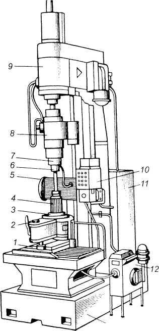 Вертикальный хонинговальный